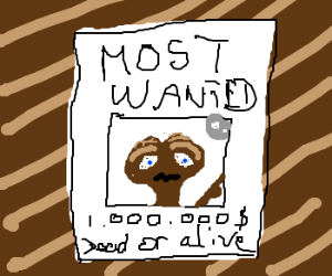 E.T. is Merica's most wanted