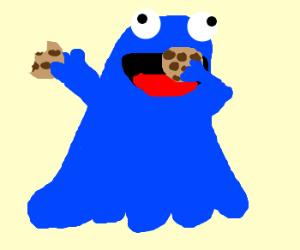 cookie monster ghost