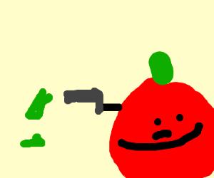 apple puts gun to money