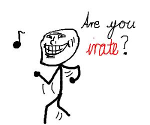 Meme-faced Joker does dance number