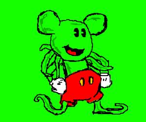 Mickey Cthulu swallows up Lucas Arts