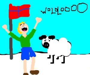Swedish Shepherd Sings Wololo From Soul
