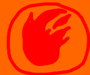 Red Fire Symbol