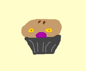 evil blackberry pie monster