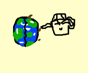 Earth suffers from teapot treacle effect