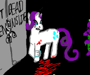 The Walking Dead My Little Pony Drawing By Lilithimmaculate