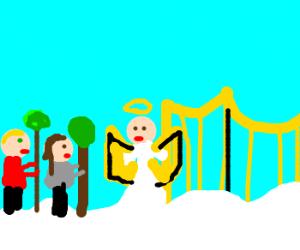 Tree-Huggers in at Heavens' Gate
