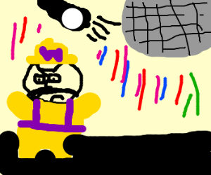 Waluigi at the disco
