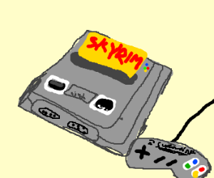 Skyrim: Super Nintendo Edition