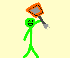 Neon green guy, takes neon Annihilation
