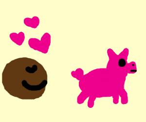 chocoball love another 1, that become pig &run