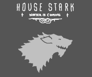 The Sigil and words of House Stark