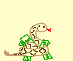More money, more problems (reptiles)