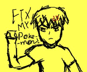 Repair my Pokemon cassette tape!!!