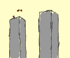 twin tower so high