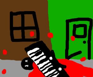 Killer piano strikes again