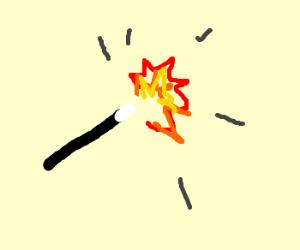 Magic Wand Explosion!