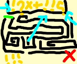 An Obnoxiously difficult maze game.