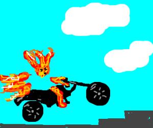 Ghostrider Lose his body