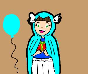 Happy Birthday!! Angel Blue Riding Hood?