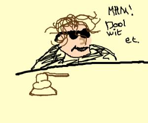 dealwithit(black judge judy puts sunglases on)