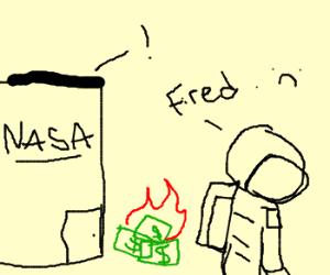 NASA suffers funding cutbacks