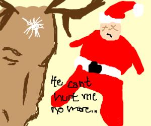 Santa too brutal - Reindeer take revenge