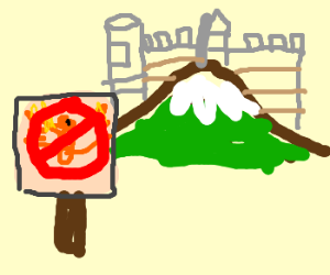 No Pheonixs allowed over the mountain fortress