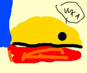 Pacman loses his nose