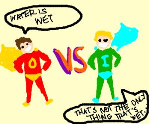 Captain Obvious VS Innuendo Man