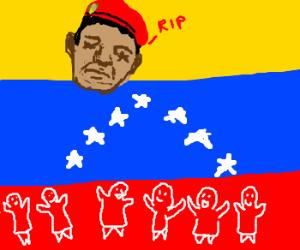 Hugo Chavez dead.. everyone its happy