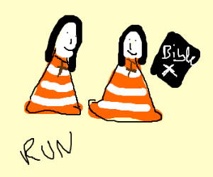 Two cons are dressed as Nuns are on the run