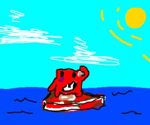 Super Meat Boy Buoys Superb Meat