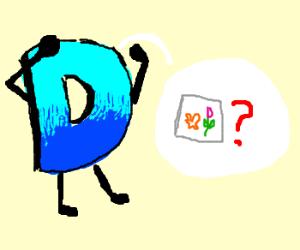 "Mr. ""D"" misses his painting"
