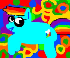 LSD Rainbow Dash