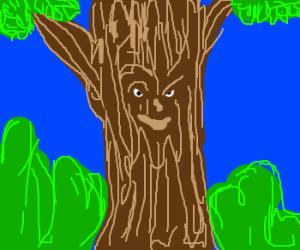 smirking tree