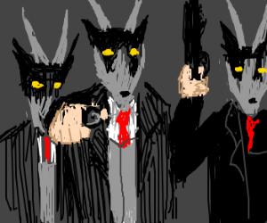 Mafia uses goat masks as disguises.