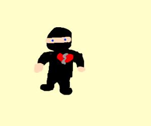 Heartbroken ninja :,(