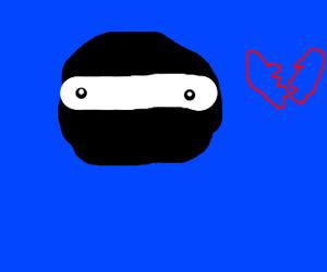 Heartbroken Ninja isn't crying.