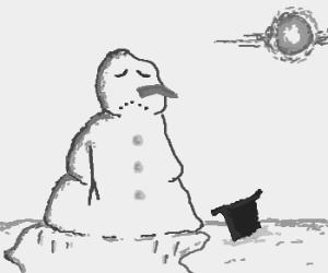 Frosty feels heartbroken and depressed