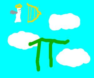 Mathematician dreams of heaven: Pi in the sky