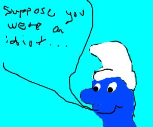 Mark Twain Smurf