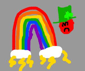 Leprechaun having a bad day