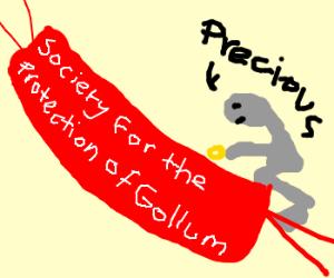 Please don't hurt Gollum!