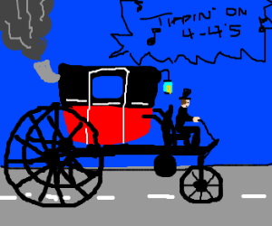 I don't want a car. I WANT A STEAM CARRIAGE.