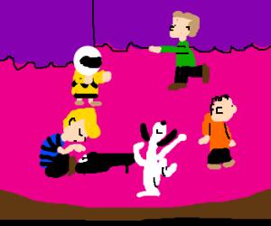 Reals? The Harlem Shake: Peanuts edition.