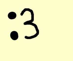 colon three