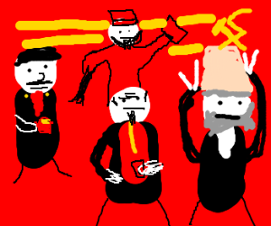 There ain't no party like a communist party