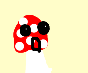 Mario's toadstool on crack