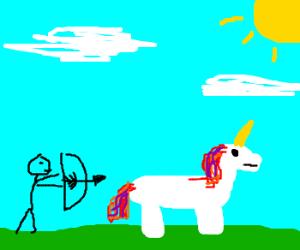 I wan to kill the unicorn.